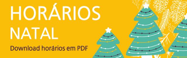 Horários Natal 2019