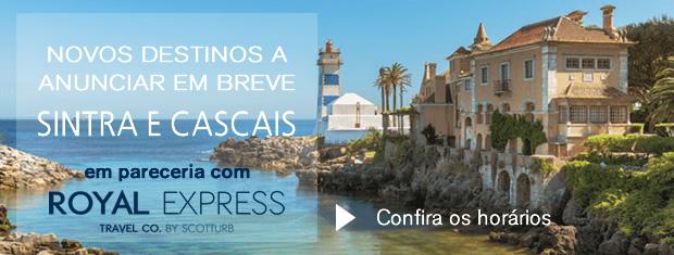 Horários destinos Cascais e Sintra