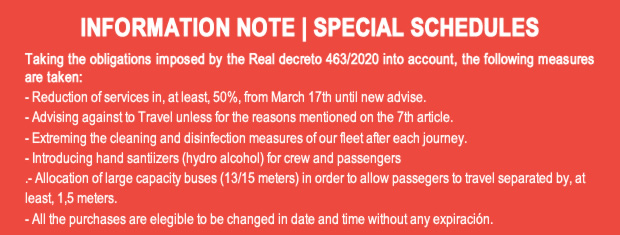 INFORMATION NOTE | SPECIAL SCHEDULES