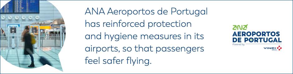 Medidas Aeropuerto de Oporto COVID-19