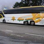 Nueva rotulación de autobus de Autna