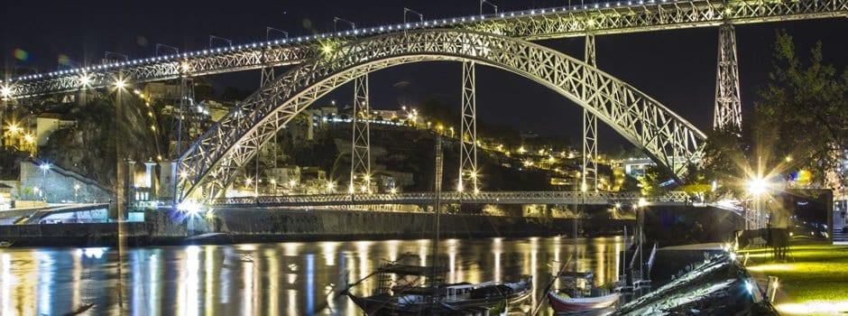 Ponte Dom Luis en Oporto