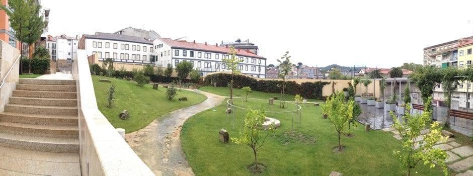 Parque das Burgas en Ourense