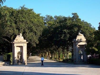 Los parques de Santiago de Compostela